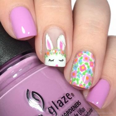 Modern Easter Nail Art Design Ideas26