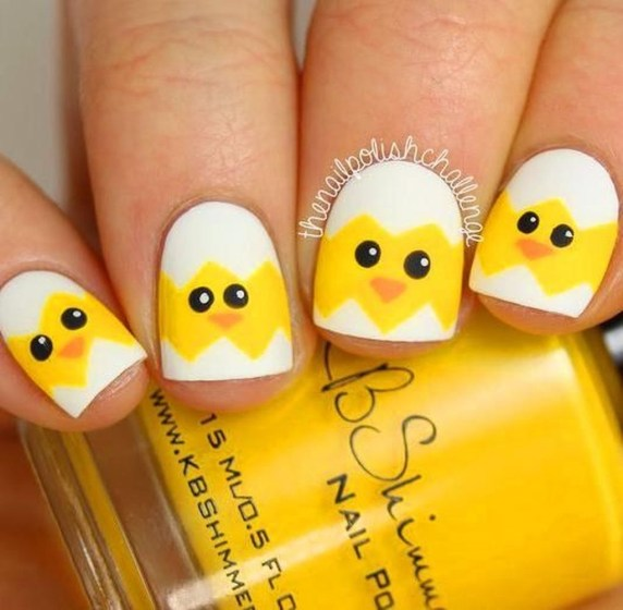 Modern Easter Nail Art Design Ideas40