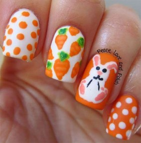 Modern Easter Nail Art Design Ideas41