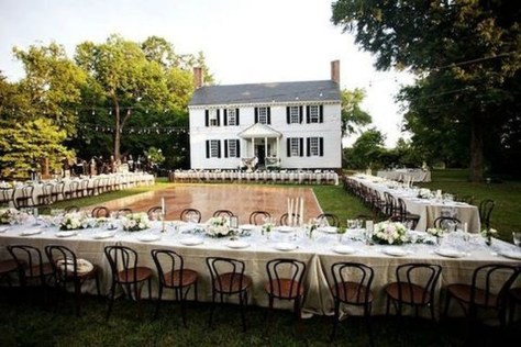 Pretty Backyard Reception Decoration Ideas08