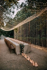 Pretty Backyard Reception Decoration Ideas25