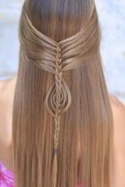Stylish Mermaid Braid Hairstyles Ideas For Girls05