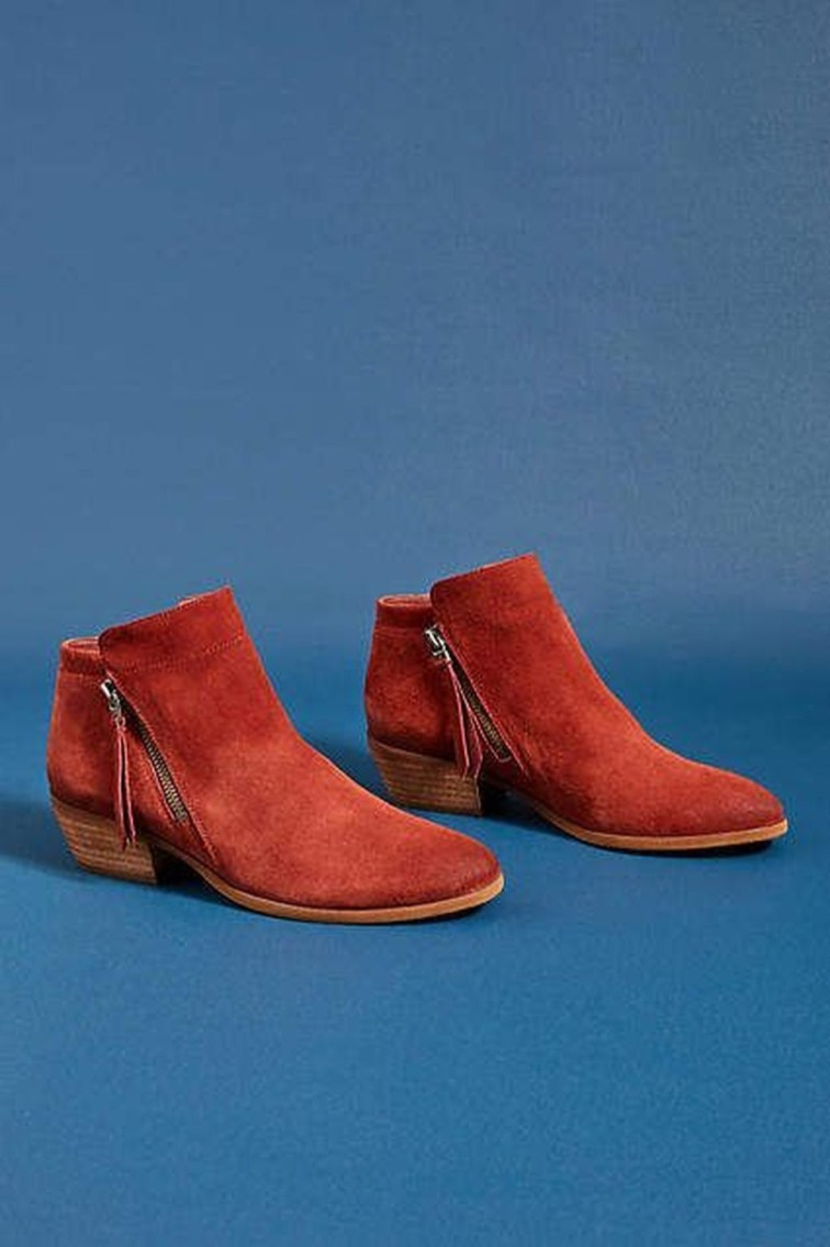 Best Ideas To Wear Wide Ankle Boots This Spring01