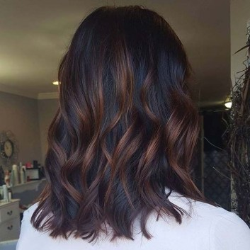 Elegant Dark Brown Hair Color Ideas With Highlights08