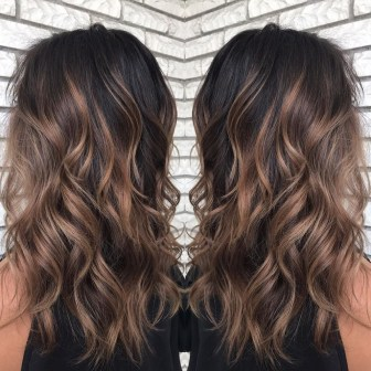 Elegant Dark Brown Hair Color Ideas With Highlights24
