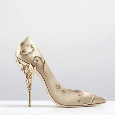 Lovely Wedding Shoe Ideas To Get Inspired24