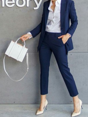 Attractive Business Work Outfits Ideas For Women 201908