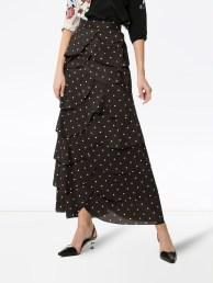 Delicate Polka Dot Maxi Skirt Ideas For Reunion21