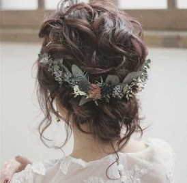 Rustic Hairstyle Ideas For Wedding10