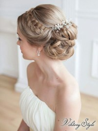 Rustic Hairstyle Ideas For Wedding12
