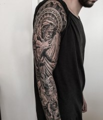 Gorgeous Arm Tattoo Design Ideas For Men That Looks Cool19