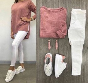Inspiring Summer Outfits Ideas With Leggings To Try40