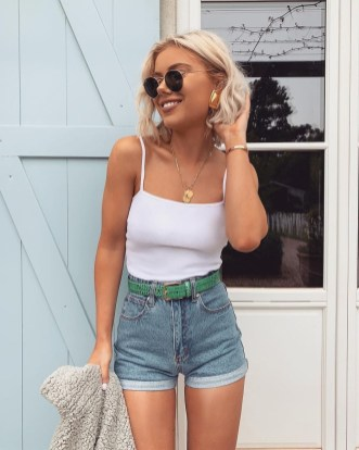 Modern Summer Outfits Ideas That You Can Try Nowadays21