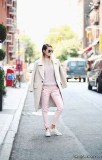Attractive Sneakers Outfit Ideas For Fall And Winter21