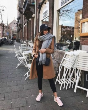 Attractive Sneakers Outfit Ideas For Fall And Winter27