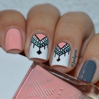 Cozy Aztec Nail Art Designs Ideas You Will Love To Copy03