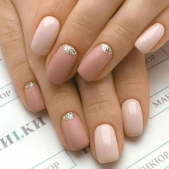 Creative Half Moon Nail Art Designs Ideas To Try36