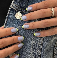 Cute French Manicure Designs Ideas To Try This Season17