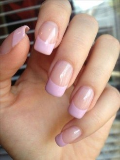 Cute French Manicure Designs Ideas To Try This Season23