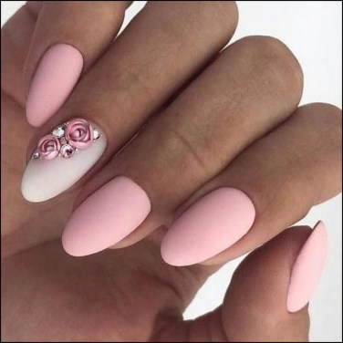 Fashionable Pink And White Nails Designs Ideas You Wish To Try17