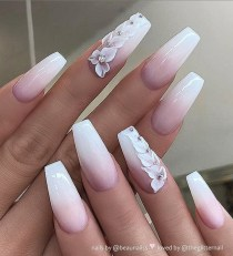 Fashionable Pink And White Nails Designs Ideas You Wish To Try39