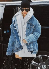 Flawless Outfit Ideas How To Wear Denim Jacket30