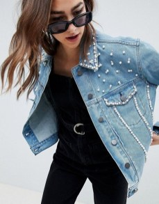 Flawless Outfit Ideas How To Wear Denim Jacket31