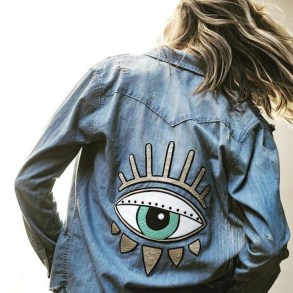Flawless Outfit Ideas How To Wear Denim Jacket32