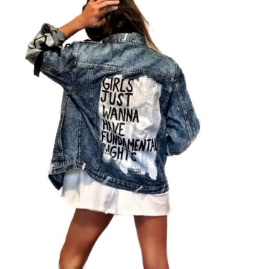 Flawless Outfit Ideas How To Wear Denim Jacket43