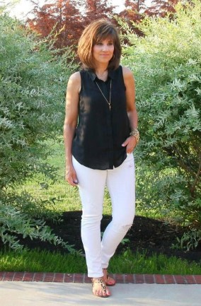 Inspiring Spring And Summer Outfits Ideas For Women Over 4008