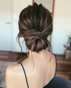 Unique Bun Hairstyles Ideas That Youll Love23