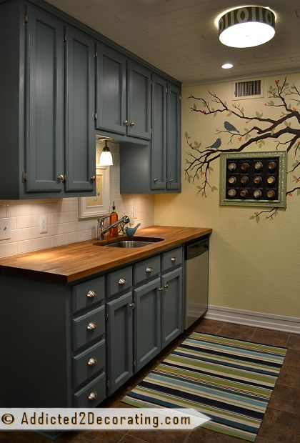 Oil Based Or Latex Paint For Kitchen Cabinets