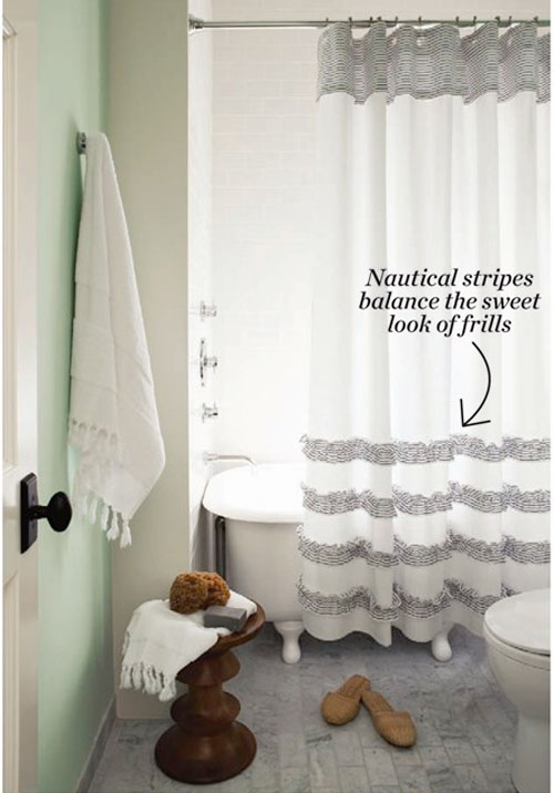 my quest for the perfect shower curtain