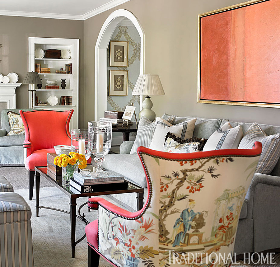 Fabric Chairs Living Room
