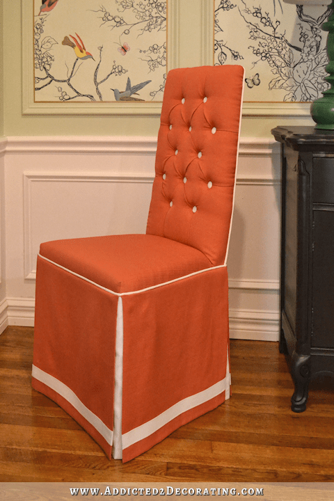 Dining Chair Makeover From Cane Back To Fully