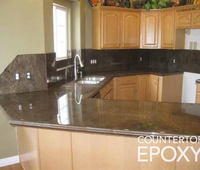 Countertop Epoxy Bronze
