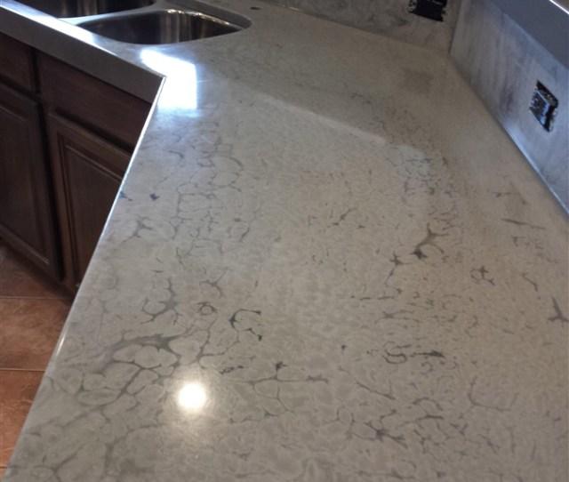 Countertop Epoxy White Marble