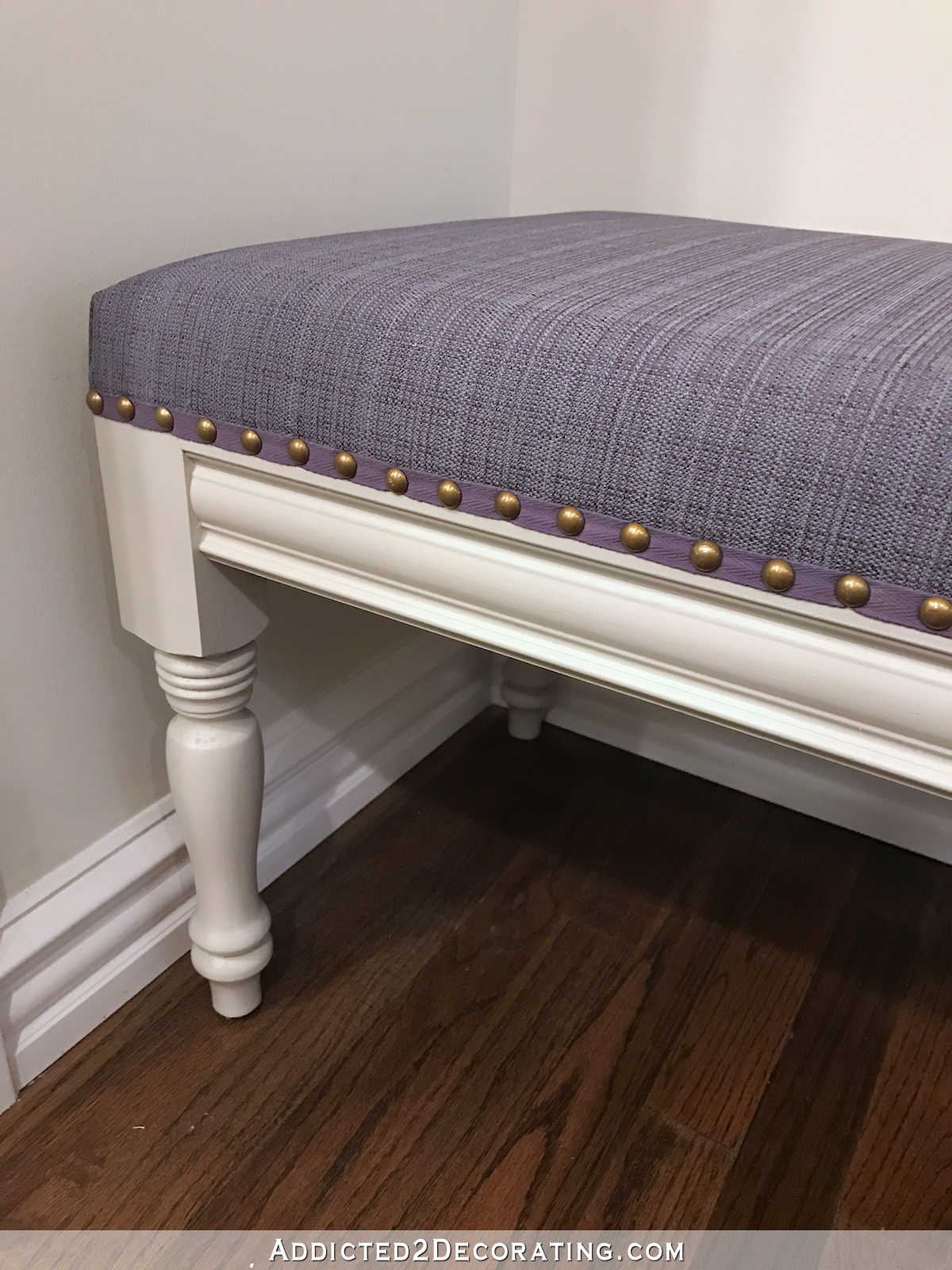 Diy Upholstered Dining Room Bench Finished How To