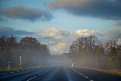 W drodze na Saaremę - krajobraz jak z bajki
