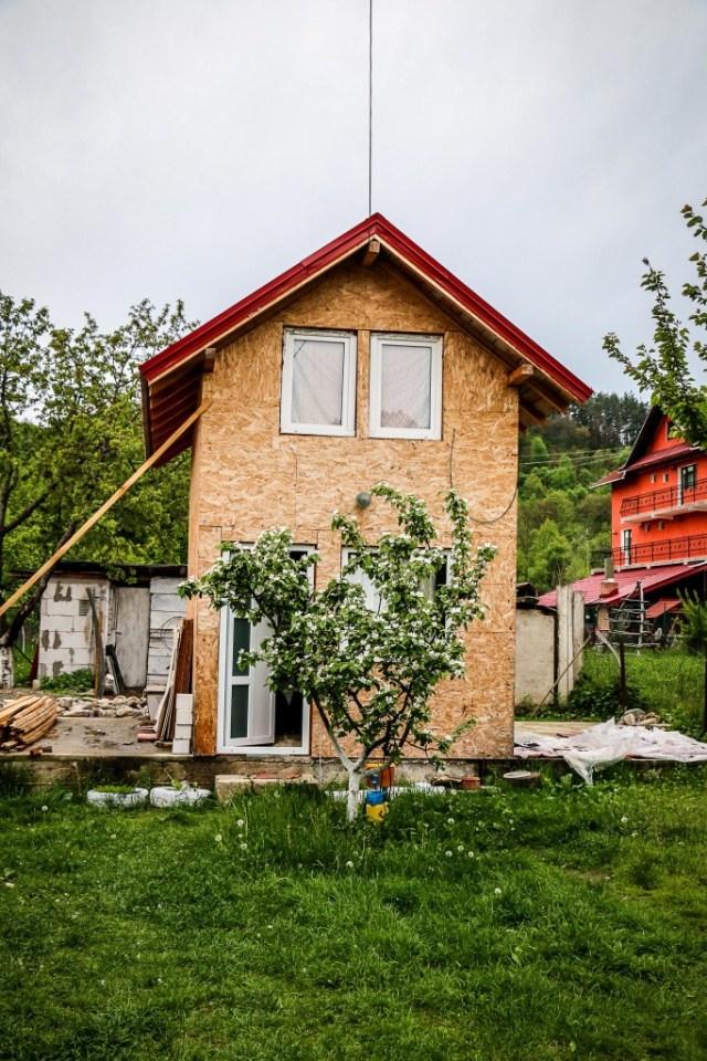 nowo wybudowany dom