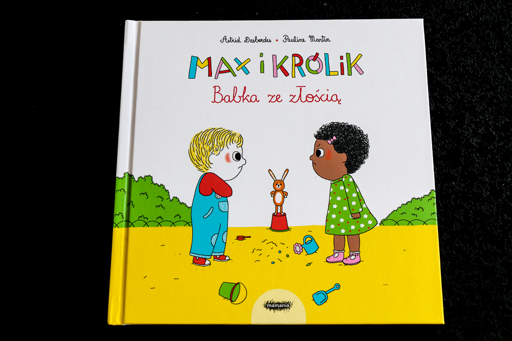 max i królik babka ze złością