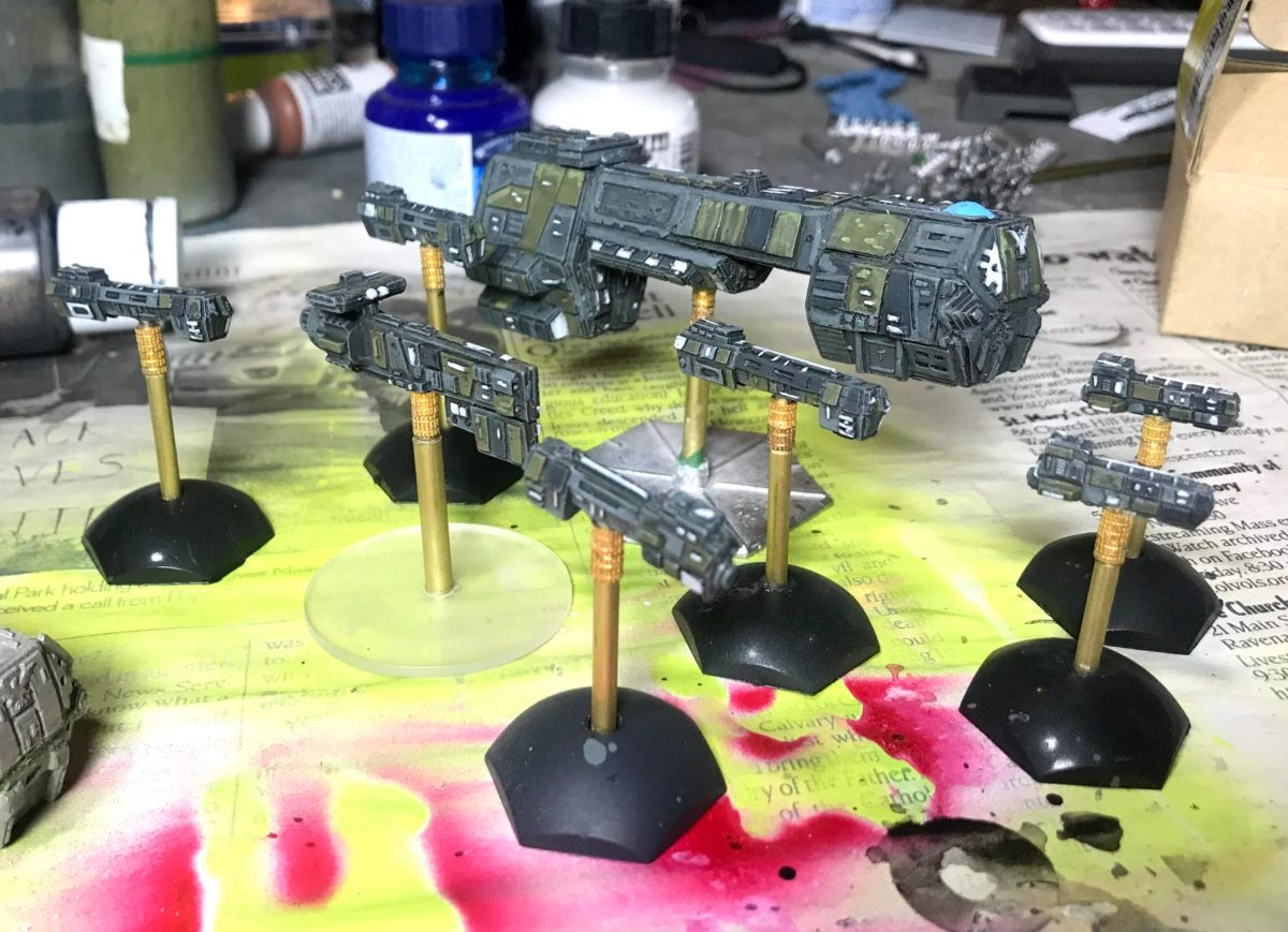 Neu Swabian League Starship test paintjobs