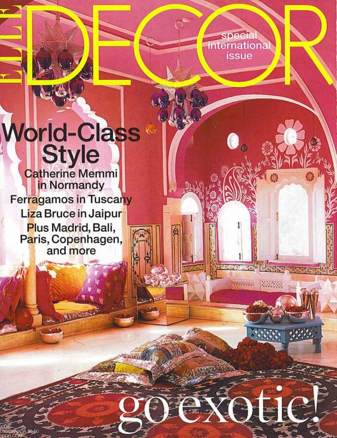 Sultry Sophisticated And Stylish Elle Decor Magazine Epinions Com