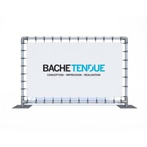bache tendue