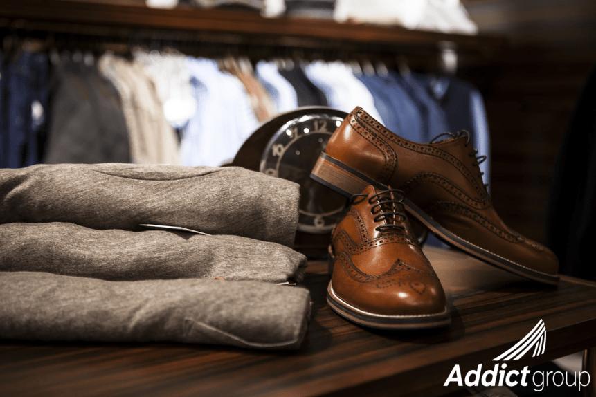 stock boutique de vêtement