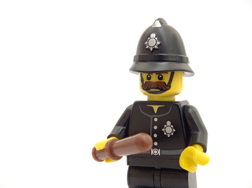 lego gendarme