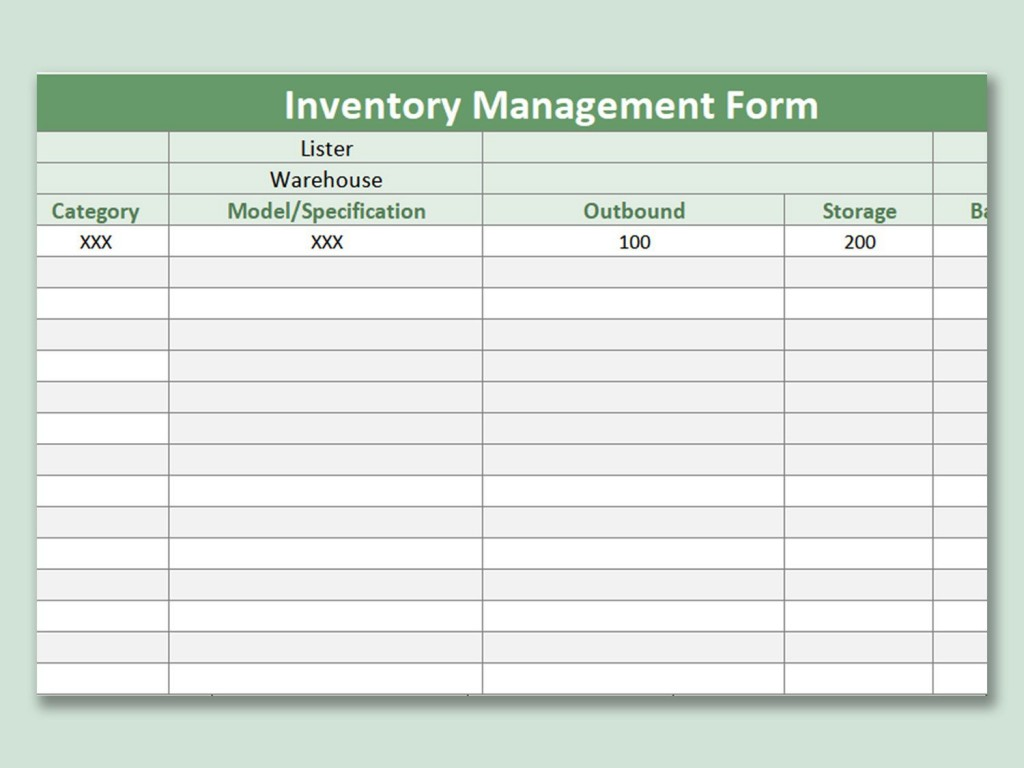 Inventory Management Excel Template Addictionary