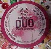 The body shop - Duo beurre corporel