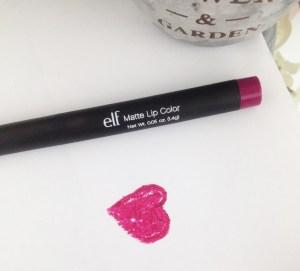 Crayon mat ELF berry sorbet
