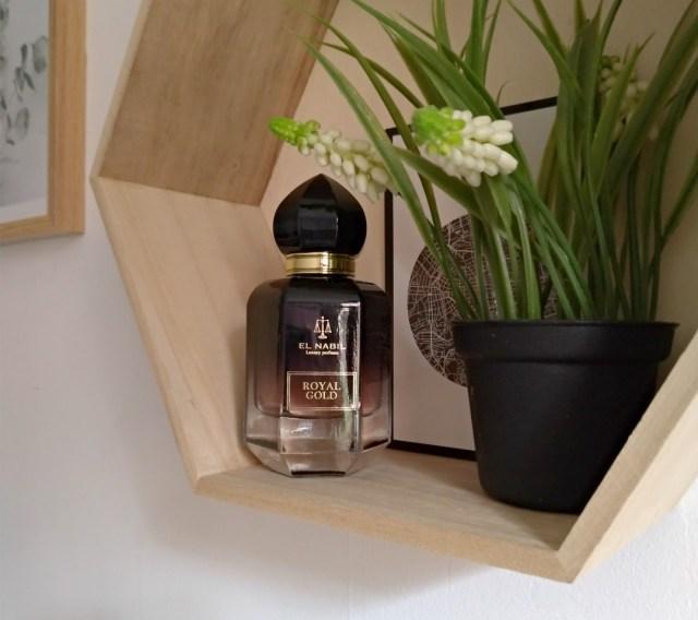 El Nabil parfum royal gold amiens musc